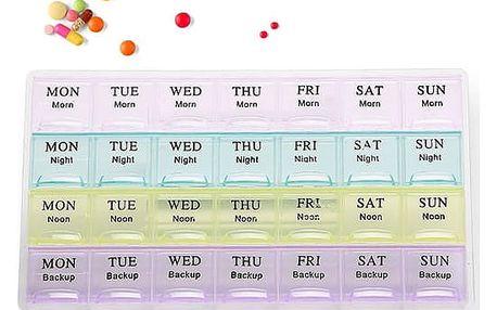Měsíční dávkovač léků - dodání do 2 dnů