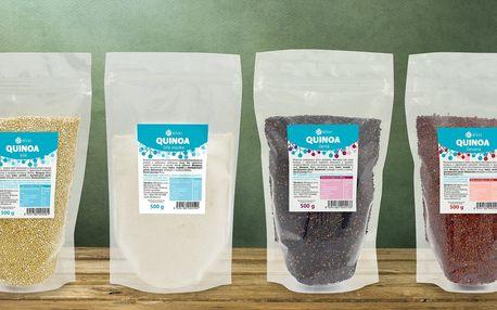 500 gramů quinoy: semínka nebo mouka