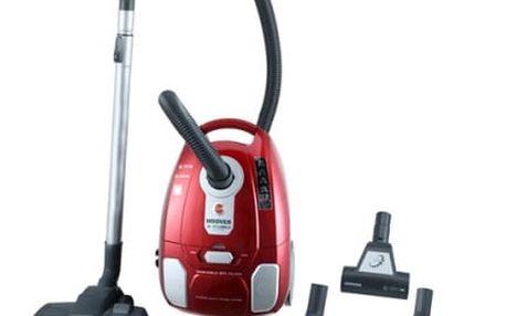 Vysavač podlahový Hoover AC70_AC69011 +dárek žehlička v hodnotě 1599 Kč červený