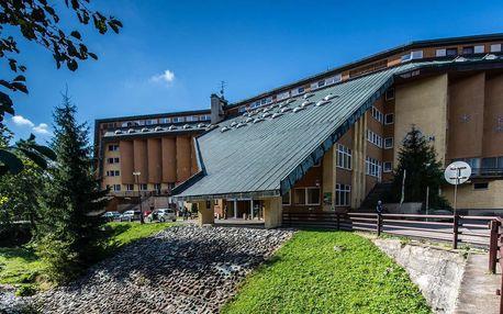 Super Last minute Krkonošských hřebenů a sauny v Hotelu Fit Fun *** v Harrachově s polopenzí a dětmi zdarma
