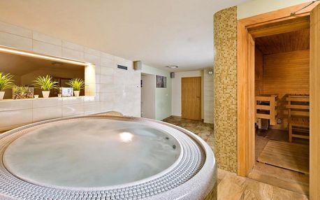 Hodinová koupel v privátní vířivce