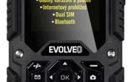 Mobilní telefon Evolveo StrongPhone X2 Dual SIM (SGM SGP-X2-B) černý