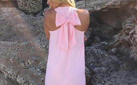 Letní šaty s mašlí na zádech - 8 barev