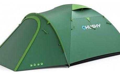 Stan Husky Outdoor Bizon 4 zelený + Doprava zdarma