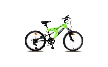"""OLPRAN Buddy 20"""" 2016 černo-zelené dětské kolo"""