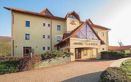 3 nebo 4denní pobyt s polopenzí a saunou v hotelu Gader u Velké Fatry pro 2