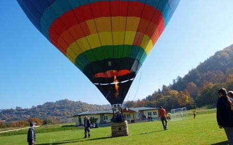 Soukromý let balónem v Libereckém kraji