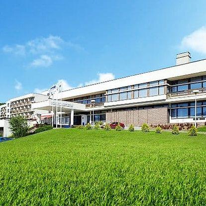 3–6denní wellness pobyt pro 2 v hotelu Harmonie*** v Luhačovicích