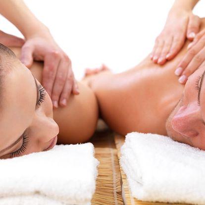 Wellness pro dva: Masáž celého těla a lávovými kameny