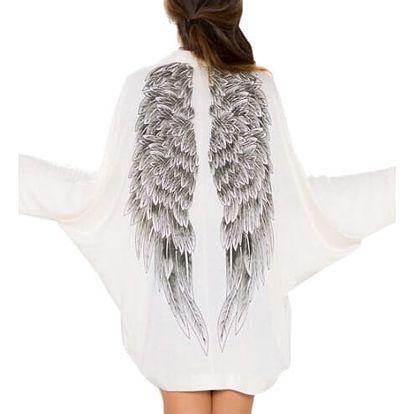 Cardigan s andělskými křídly - velikost 3