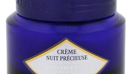 L´Occitane Immortelle Precious Night Cream 50 ml noční pleťový krém proti vráskám pro ženy