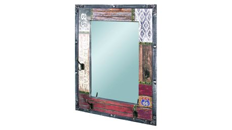 Zrcadlo s věšáčky ROUTE 28955