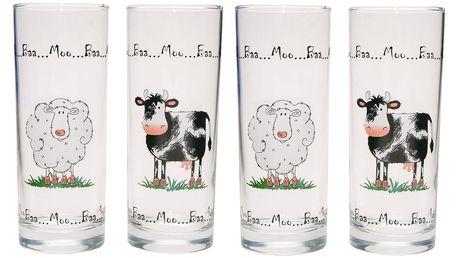 Sada 4 skleniček Ravenhead Home Farm, 300 ml