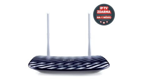 Router TP-Link Archer C20 + IP TV na 1 měsíc ZDARMA (Archer C20) + Doprava zdarma