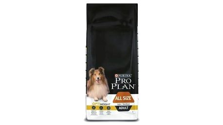 Granule Purina Pro Plan ALL SIZE ADULT Light/Sterilised 14 kg + Doprava zdarma