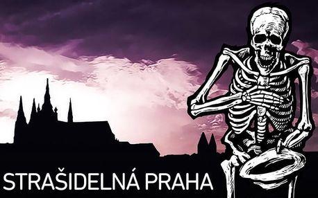 90minutová strašidelná, zábavná i naučná procházka pro malé i velké centrem Prahy