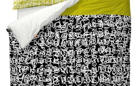 Povlak na peřinu Blanc Wire, 140x200 cm