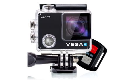 Niceboy VEGA 5 + dálkový ovladač - vega-5 + BT reprodduktor Niceboy SOUNDgo v ceně 590 Kč + Niceboy Selfie tyč 52,5 cm černá v ceně 450 Kč