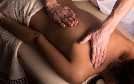 60minutová Breussova masáž + lávové kameny