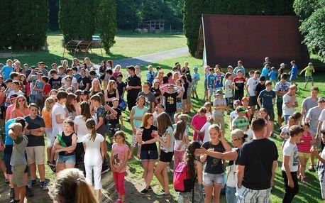 Tábor pro děti na 8-10 dní v Jižních Čechách či na Vysočině