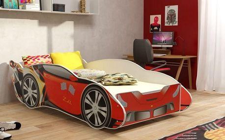 Dětská postel pro kluky RACER