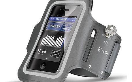Pouzdro na mobil sportovní Celly Armband XXL (ARMBAND02) šedé