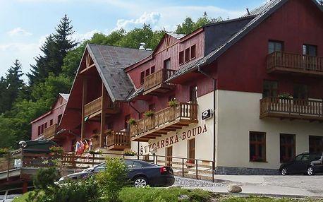 Pohodová dovolená s polopenzí ve Špindlu