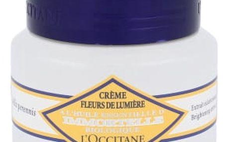 L´Occitane Immortelle Brightening Moisture Cream 50 ml denní pleťový krém proti vráskám pro ženy