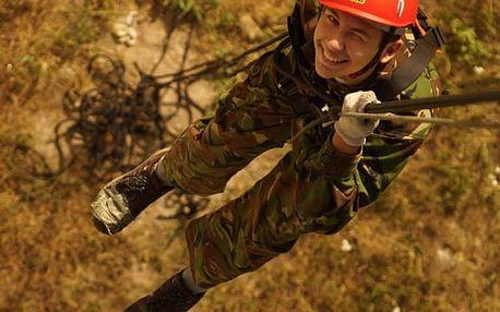 Airsoft tábor pro děti na 8-10 dní v Jižních Čechách či na Vysočině