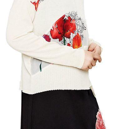 Desigual béžový svetr Marie - S