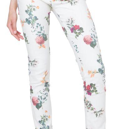 Desigual barevné kalhoty Lisa - 36