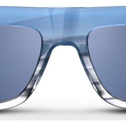 Unisex sluneční brýle s modrými obroučkami Triwa Sky Fade Alex - doprava zdarma!