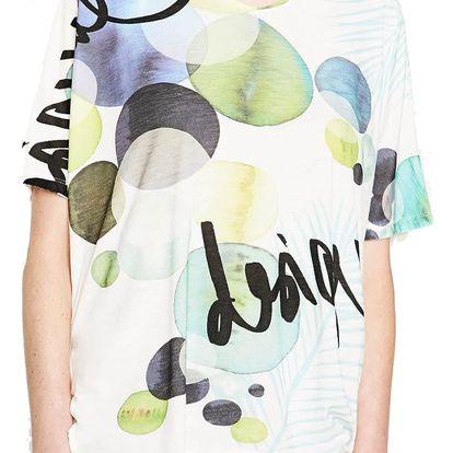 Desigual barevné tričko Leyre - S