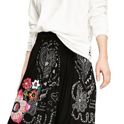 Desigual černá sukně Lola - XS