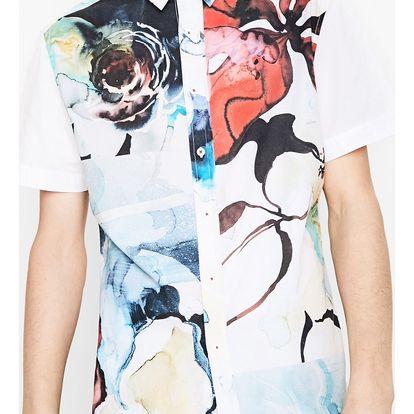 Desigual barevná pánská košile Leo - L