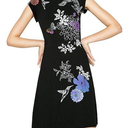 Desigual černé šaty Encuer - XS