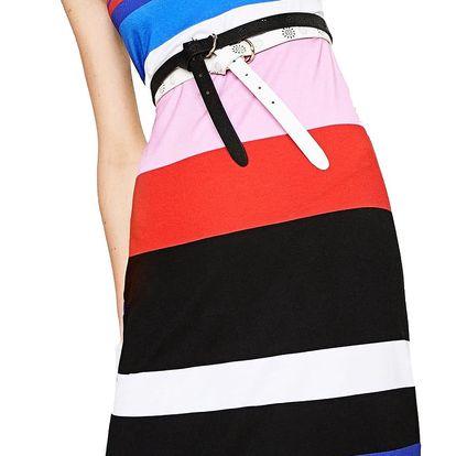 Desigual pruhované šaty Petra - L