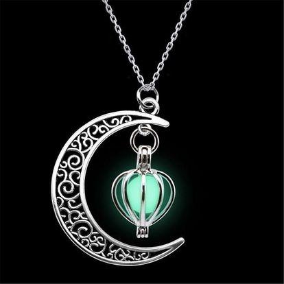 Stylový luminiscenční náhrdelník - 19 variant