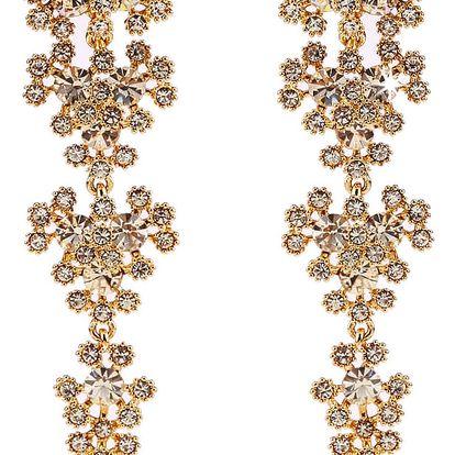 Fashion Icon Náušnice visací svatební Dream krystal