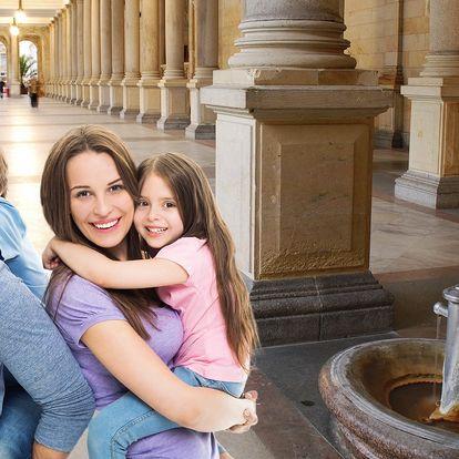 Rodinná pohoda ve Varech: bazén, výlety, dobroty