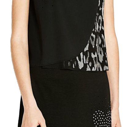 Desigual černé šaty Meg - L
