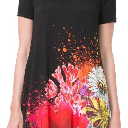 Desigual černé šaty Mc Dress Luka - M