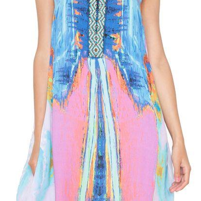 Desigual barevné šaty Madrid - 40