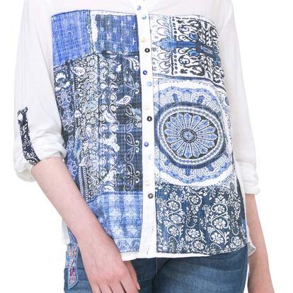 Desigual bílá košile Gemma - L