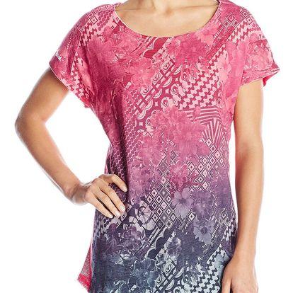Desigual barevné oversize triko L Dress B - S
