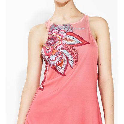 Desigual sportovní tílko A Tank Dress P Paisley - L