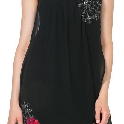 Desigual černé šaty Nuri - 44
