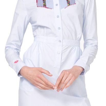 Desigual košilové šaty Suiza - 42