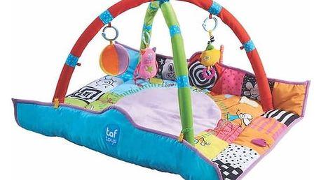 Hrací deka s hrazdou Taf toys s hrazdou pro novorozence