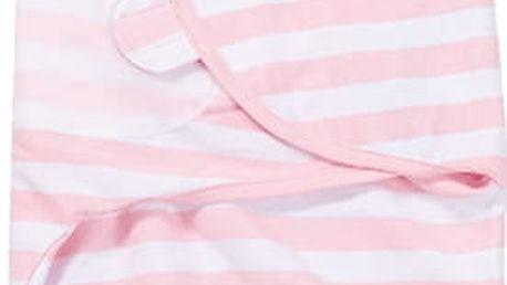 SUMMER INFANT Zavinovačka SwaddleMe S růžový/bílý proužek